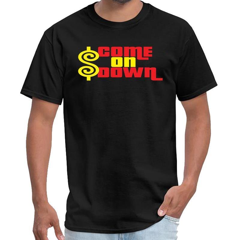 Customize Come On Down the 100 camiseta masculina rick camiseta feminina mais tamanhos S-5XL tee topo