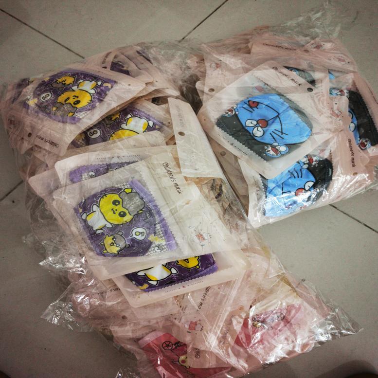 Характер Мультфильм Маска Детская маска Индивидуальный пакет 4 12 лет Dhl мультипликационный персонаж Удивительный магазин фабрики