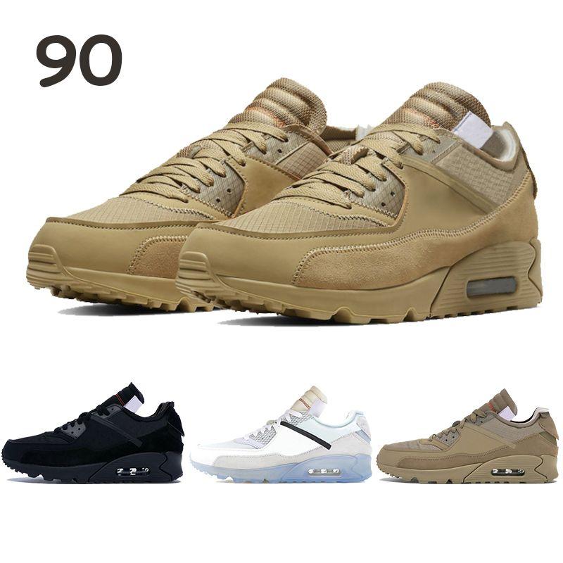 2020 Best Selling Weiß X Männer Frauen Laufschuhe 90s Style-Weiß Schwarz Desert Ore Herren Kissen Schuhe Chaussures Turnschuhe US 5,5-11