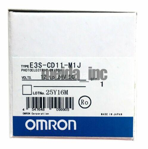 Brand New Omron photoelectric sensor E3S-CD11-M1J E3SCD11M1J Quality Assurance