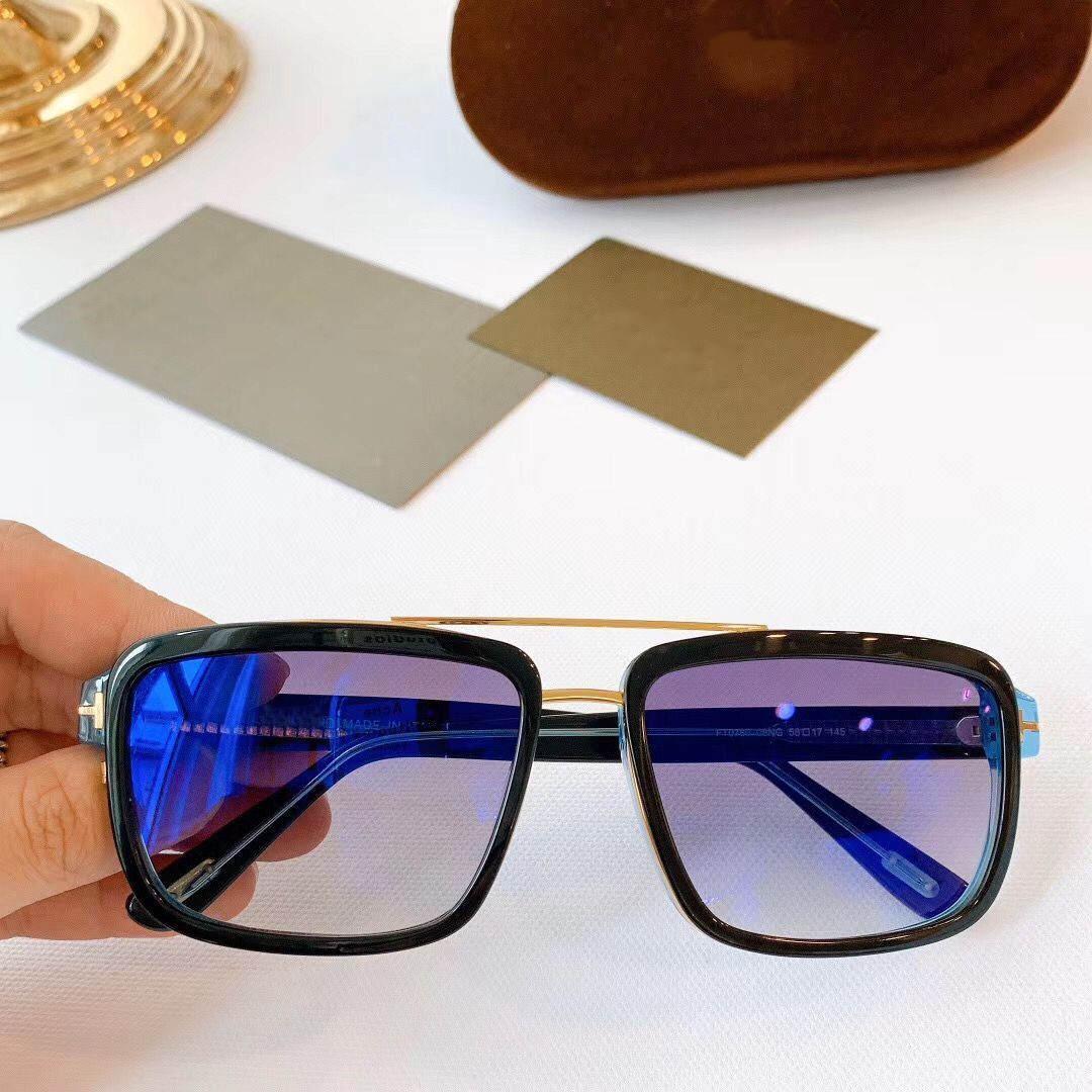 2020 جديد أزياء العلامة التجارية مصمم النظارات الشمسية الرجال السيدة الاستقطاب النظارات الخفيفة ستة أنواع من لون الأزياء UV400 جودة عالية إطار نظارات