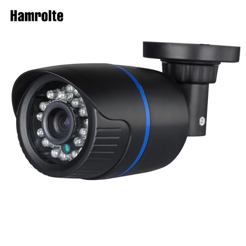 Hamrolte AHD 1080P / 720P di alta risoluzione di 2,8 millimetri di larghezza Angle Lens Nightvision impermeabile CCTV Camera esterna