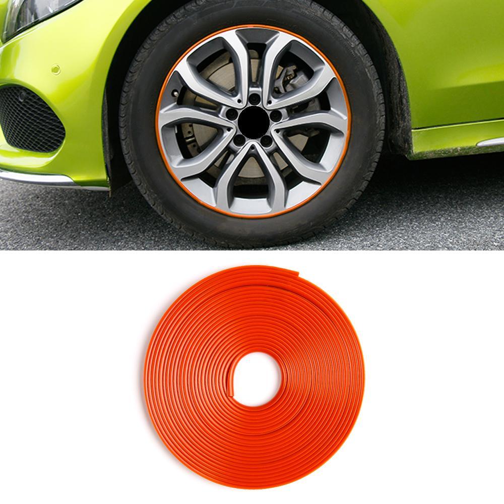 Autozubehör Reifenfelge Radnabenstreifen Trim Aufkleber Abdeckrahmen Außendekoration für Mercedes-Benz E-Klasse W213 2016-2020