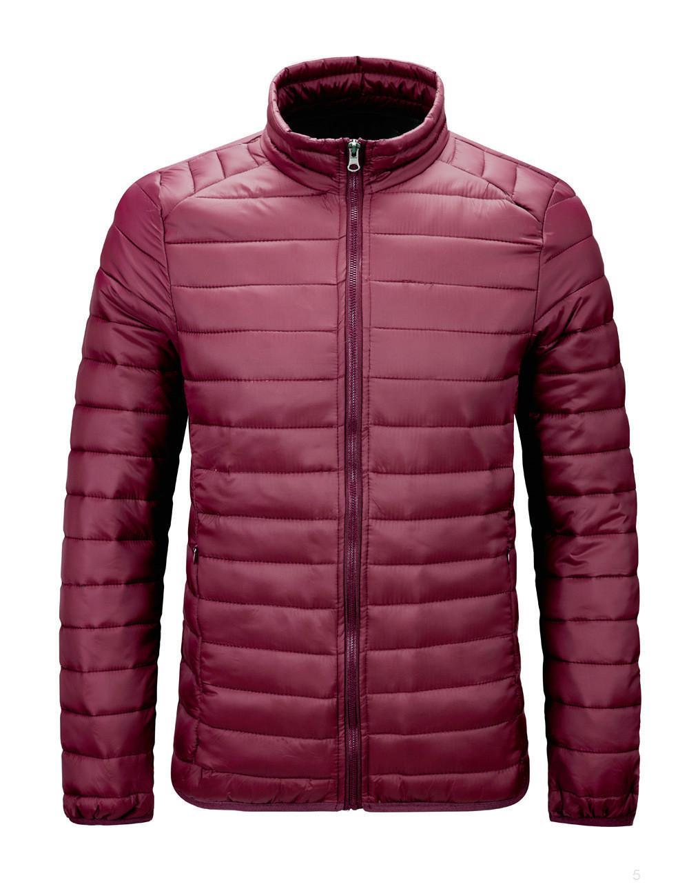 caliente del invierno abajo chaqueta al aire libre venta de la manera de los hombres 4IIBABB