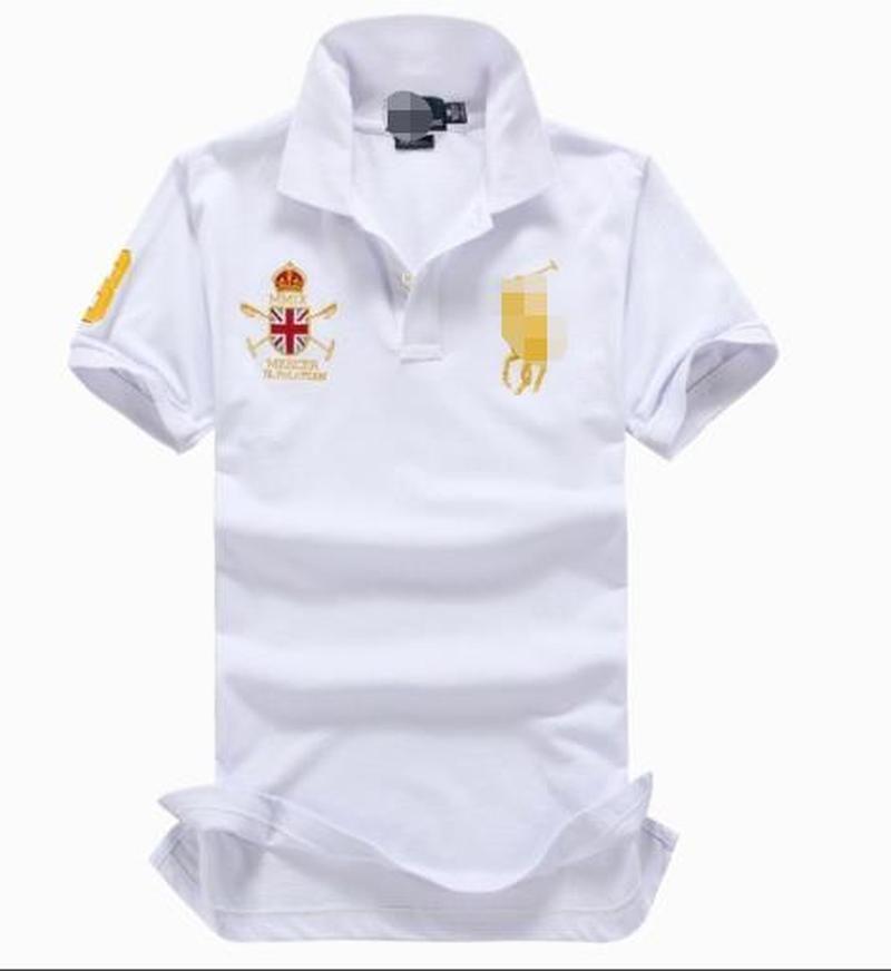 Il Bianco Il logo Classic Business Daily Wear manica corta 1651