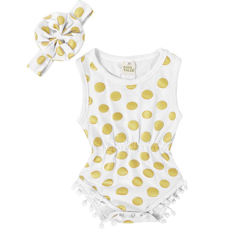 الطفل الرضع السروال القصير الصبي مصمم الملابس الوليد قطعة واحدة بذلة الصيف أشنجات sunsuit مجموعات مع عقال الفتيات نقطة رومبير جودة عالية