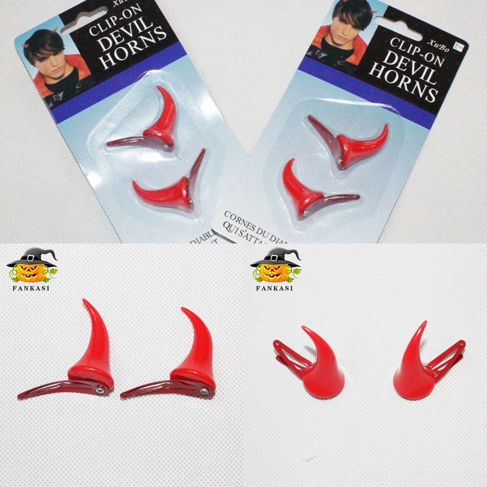 X5TS7 Wide Style devil Headbands Baby Accessories Hair Bows For Girls horn Elastic Hairband Floral Kids Turban Hair Fresh Hallowmas Nylon He