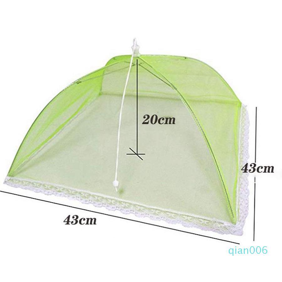 Pop Up de malla cubierta de la pantalla Food Protect Carpa Cubierta del alimento Cúpula neto paraguas protector de picnic Alimentación OOA8055