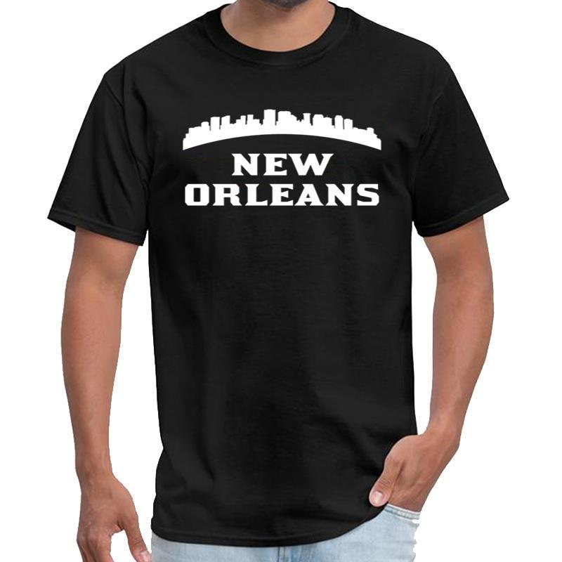 Horizonte estilo hilarante del vintage de Nueva Orleans LA niño mandalorianas hombres de la camiseta y mujeres u2 camiseta de las tapas de hiphop s-6XL