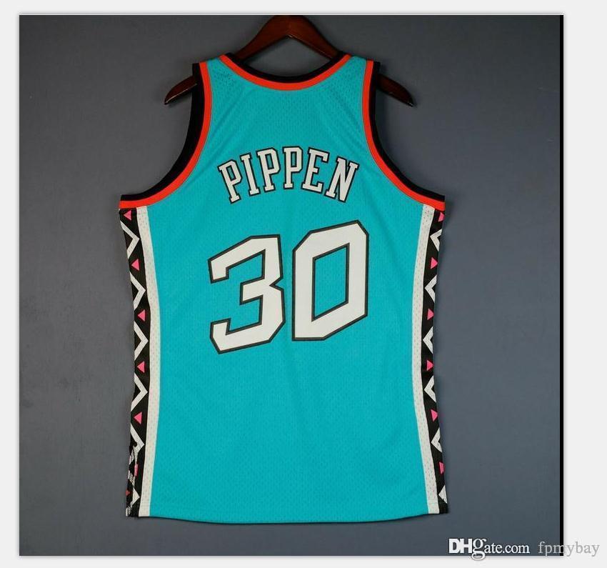 Özel Erkek Gençlik Kadınlar Vintage Scottie Pippen Mitchell Tüm kolej basketbol forması boyutu S-4XL veya özel herhangi bir isim veya numara forması