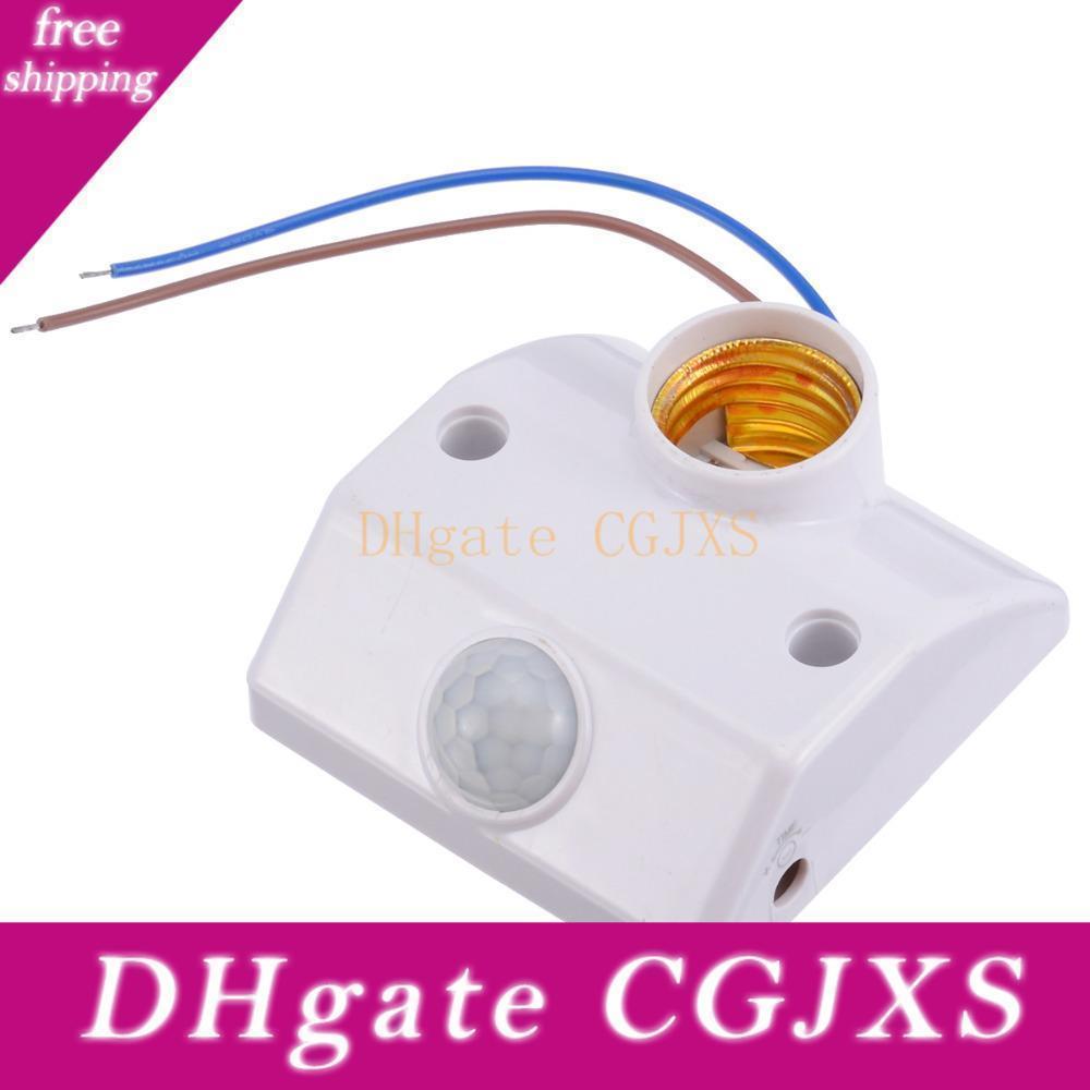 E27 Pir Infrarot-Bewegungs-Sensor-LED-Licht-Lampen-Halter Led Lampen-Unterseite Pir Bewegungs-Sensor-Schalter-Licht-Halter Sockel