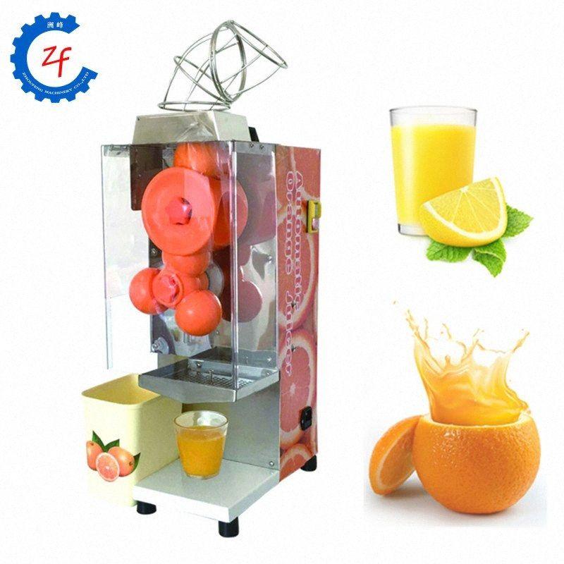 Automatique orange Juicer électrique Presse-agrumes Presse-agrumes en acier inoxydable 220v YGhu #