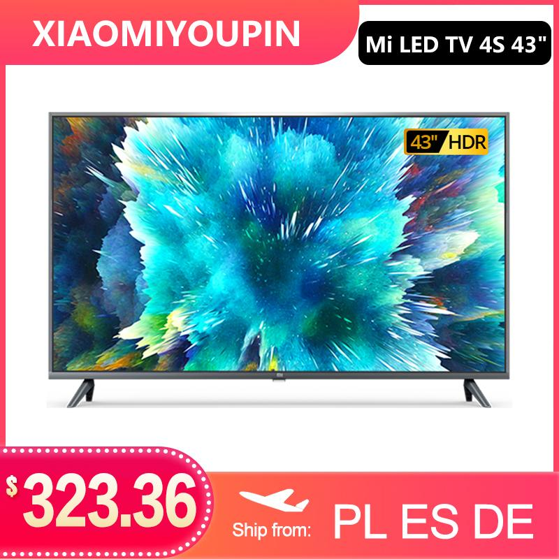 Xiaomi TV 4S 43 inches 4K smart television 2G+8G storage support miracast Netflix DVB-T2+C/DVB S2 intellgent LED television WIFI Android 9.0