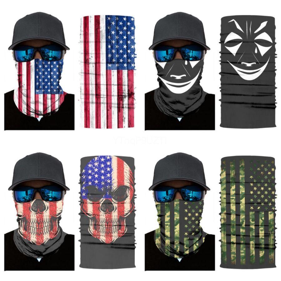 Горячего черных Дизайнерские Printed маска Личности лицо Маску пыл Мода Печать лед шелковая ткань можно стирать маски # 534