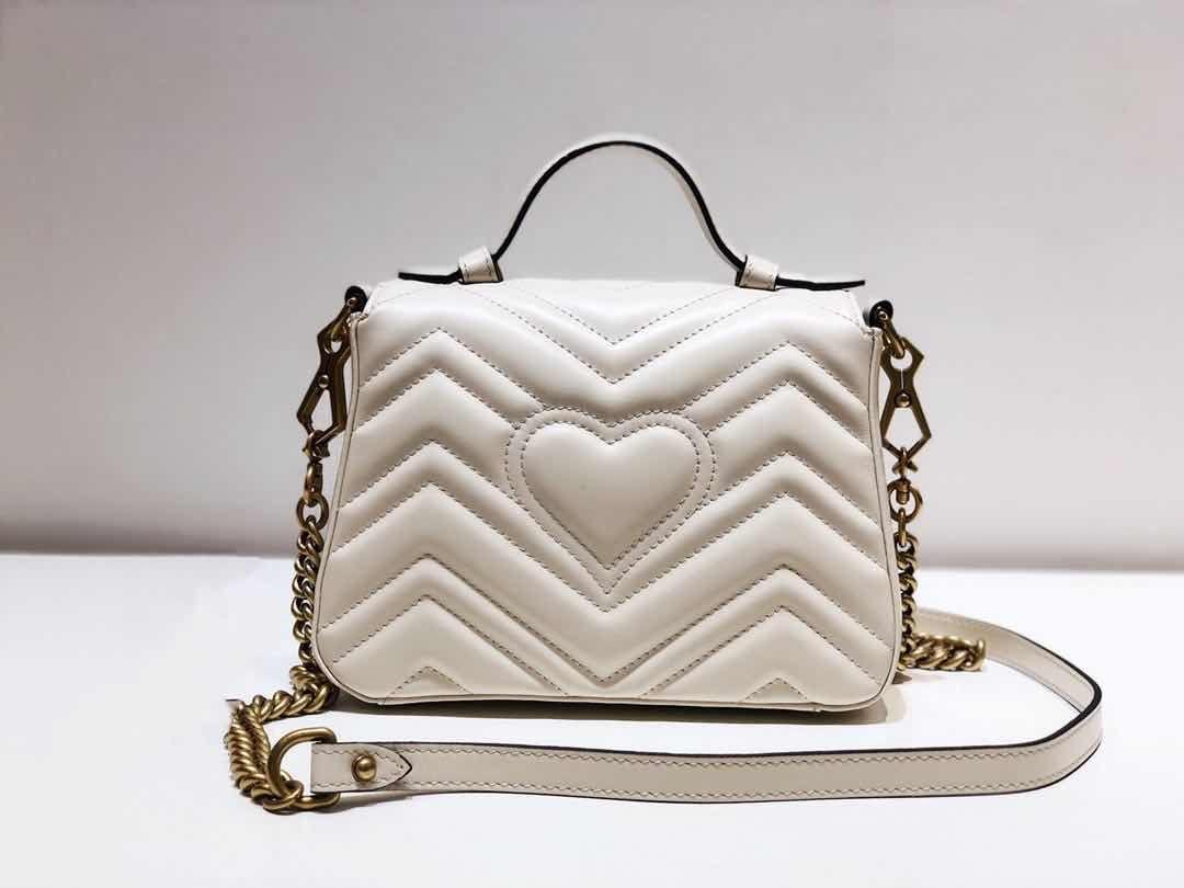 2020 Mode-Handtaschen Art und Weise sackt Frauen Tasche Schultertasche aus echtem Leder Umhängetasche