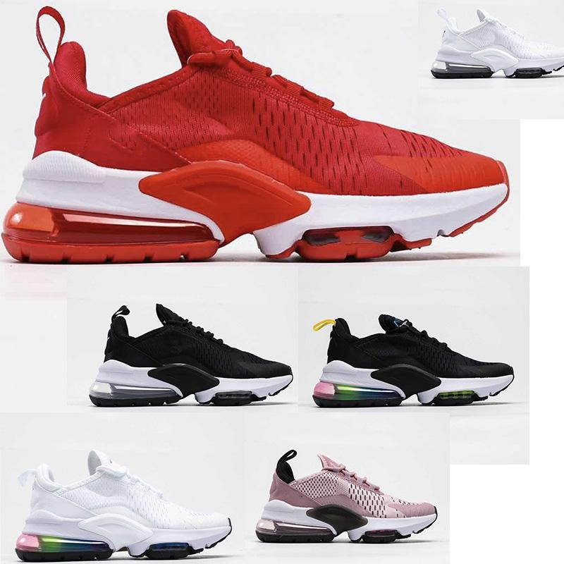 New 2020 FLORAL Running Shoes for Women Men Shoes SE Triple Black White RAINBOW HEEL Volt Orange Mens Trainer Sport Sneakers 39-45