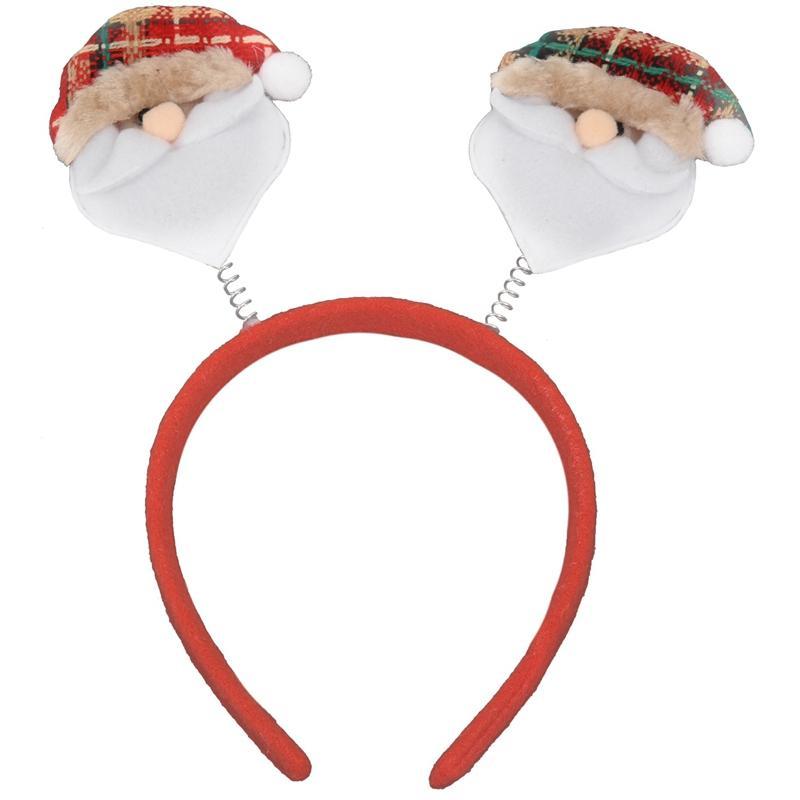 Bandas dos desenhos animados Natal Velho Snowman Elk Cabelo urso para mulheres das meninas bonitos Crianças Cabelo Acessórios presente