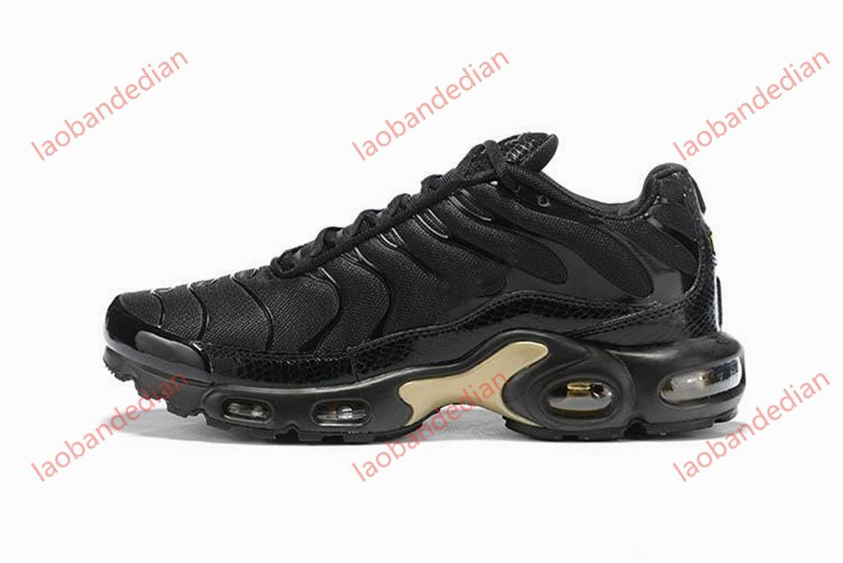 El más nuevo diseño champagnepapi Mercurial Plus Ultra Tn SE Negro Blanco Naranja de los zapatos corrientes Plus TN zapato para hombre de las zapatillas de deporte de las mujeres entrenadores deportivos