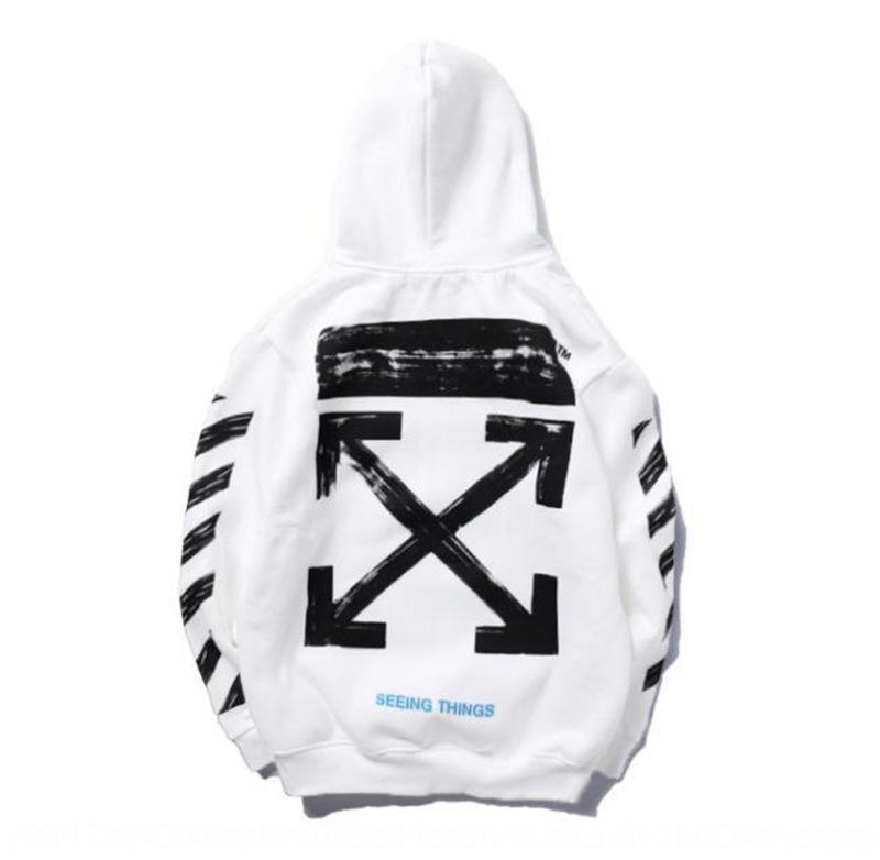 Gd6E9 2020 kazak kroki grafiti ceket ok kadife Sıcak sıcak kazak hoodie kazak çift