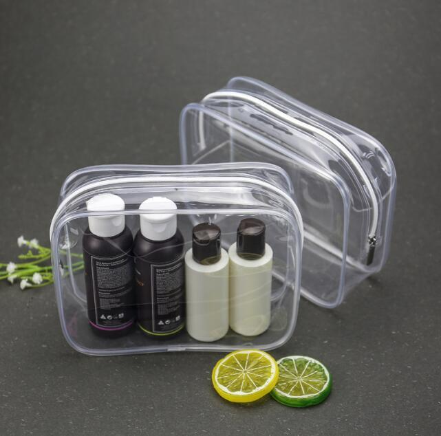 10pcs Cosmetic Bag 2020 New Clear EVA Solid Waterproof Protable Multifunctional Travel bags