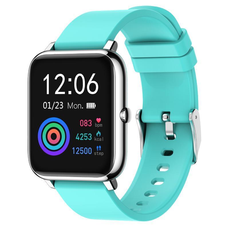 cgjxs1pcs P22 Sport intelligente Guarda frequenza cardiaca sonno Monitoraggio contapassi Alarm Clock Trova Bracciale adulti per Iphone Samsung Huawei Smartwatch