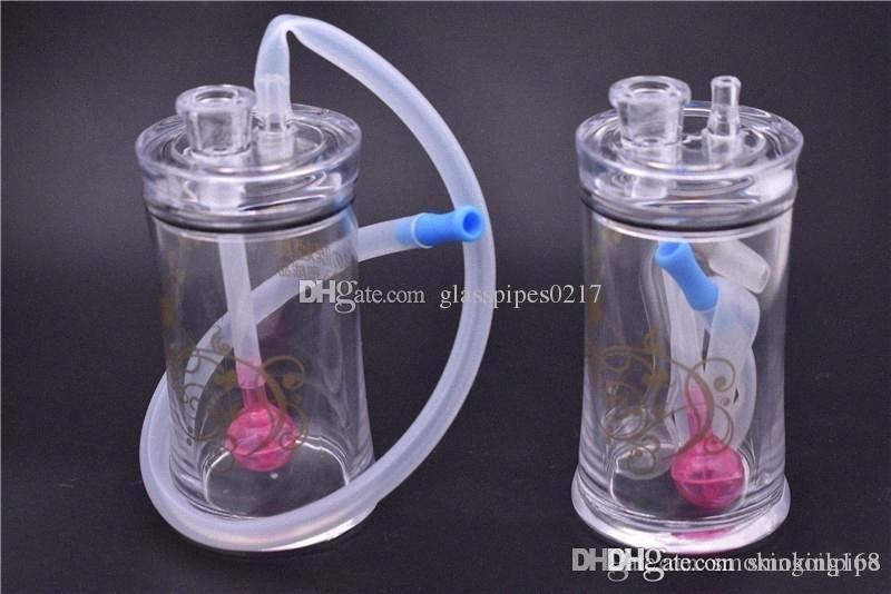 Rig Olio Nuovo bong Tubi Acrilico Olio Burner Bong acqua con 10 millimetri Tubo Maschio Oil Burner vetro silicone Tubo per il fumo DHL LIBERA trqk #