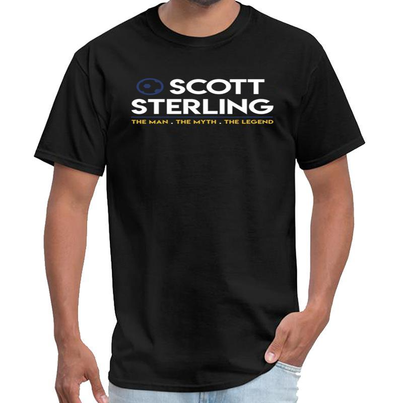 Stampa Scott Sterling la maglietta leggenda rhodesia uomo mito homme vetement homme maglietta 3xl 4xl 5XL naturale