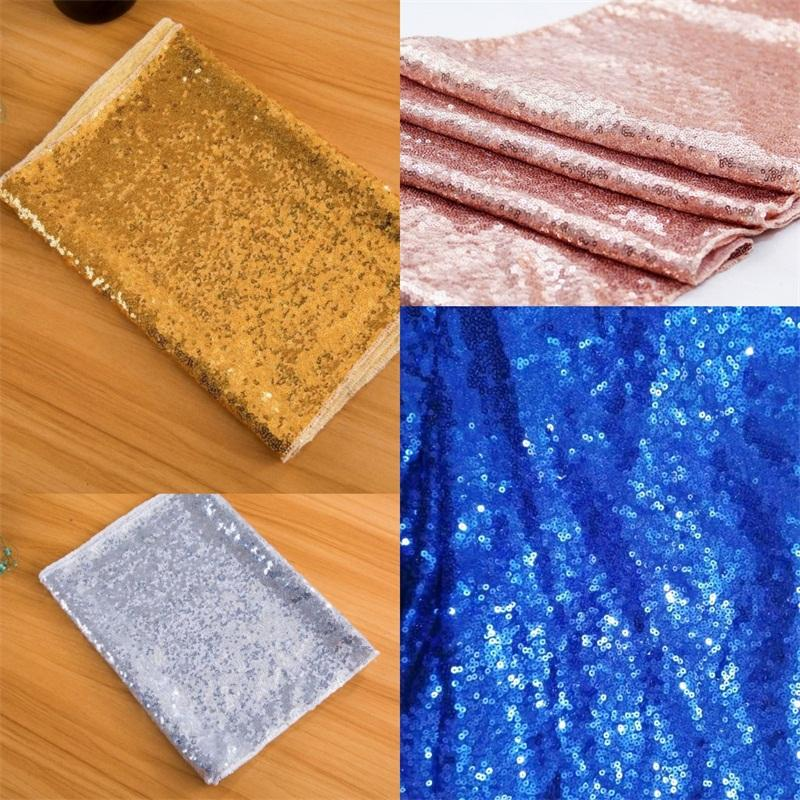 Party Table Cloths Sequins Flags Fashion Cover 3mm Runner Wedding Banquets Mediterranean Sea Popular Decoration Hot Sale 13xw F2