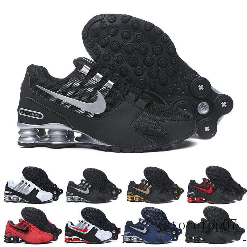 nike shox avenue Avenue shox 802 2020 Men baratos Avenue clássico 803 Entregue Oz Shoes Mulher Running Shoes Esporte instrutor de tênis Almofada Tamanho 40-46 LK6QC