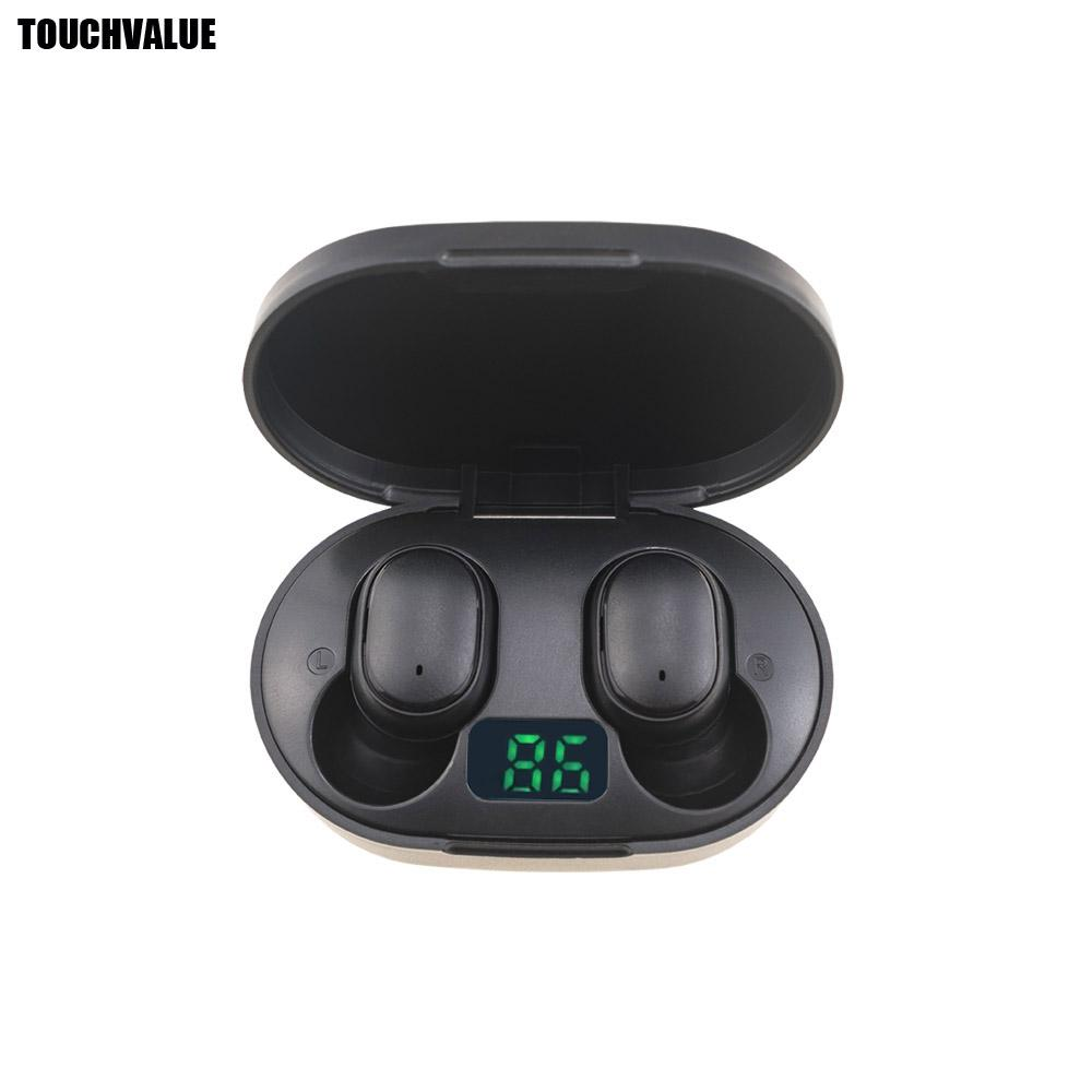 mini-écouteurs Bluetooth sans fil Casque Rose Blanc Noir Bleu Vert avec microphone d'affichage de charge boîtier portable TWS Oreillettes