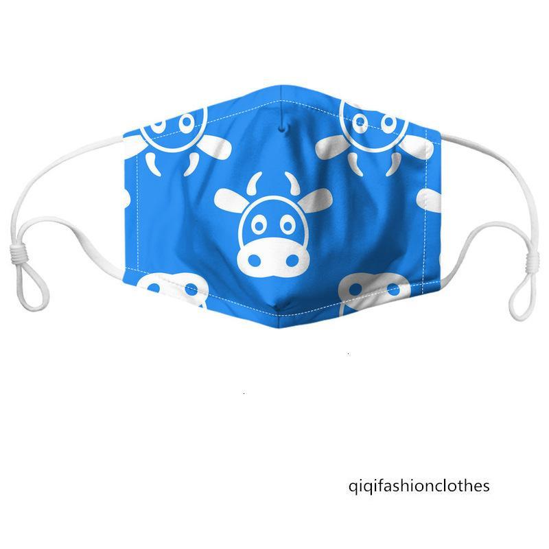 maschera di polvere anti-nebbia maschile maschera maschera protezione solare delle donne d'arte animale delle donne lavabili