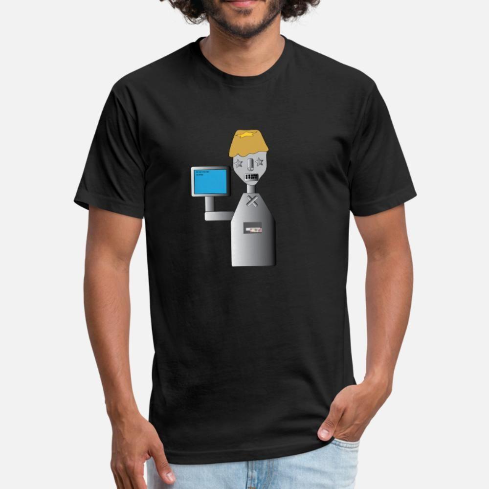 Robot3 тенниски мужчина Designs футболочки плюс размер 3XL дышащего Spring Natural Fitness Осень Trend рубашки