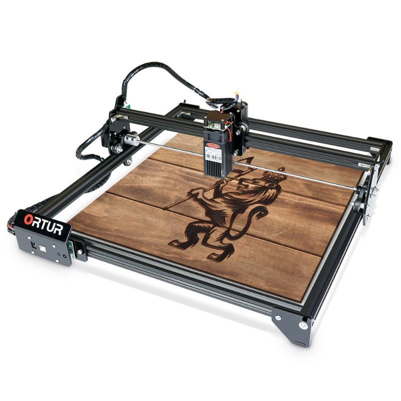 Machine de découpe de gravure au laser 2 au laser ortur avec carte mère 32 bits 7W 15W 20W vitesse de précision de haute précision