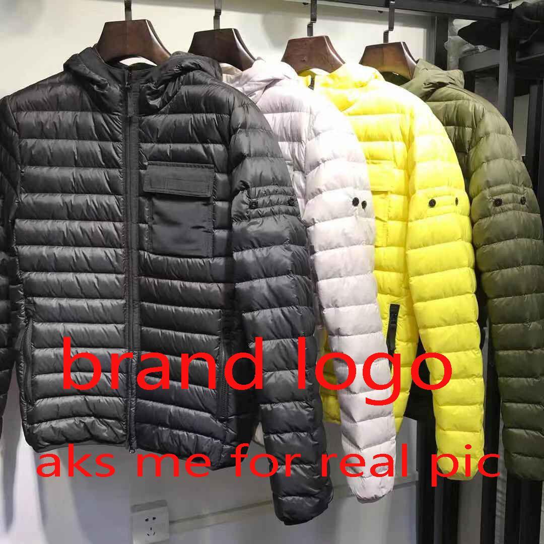 Kış Tasarımcı Erkek ceketler Moda Erkekler Kadınlar Marka Aşağı Palto WINDBREAKER Yüksek Kalite Coats Erkek Kadın ceketler Giyim Toptan 20817K