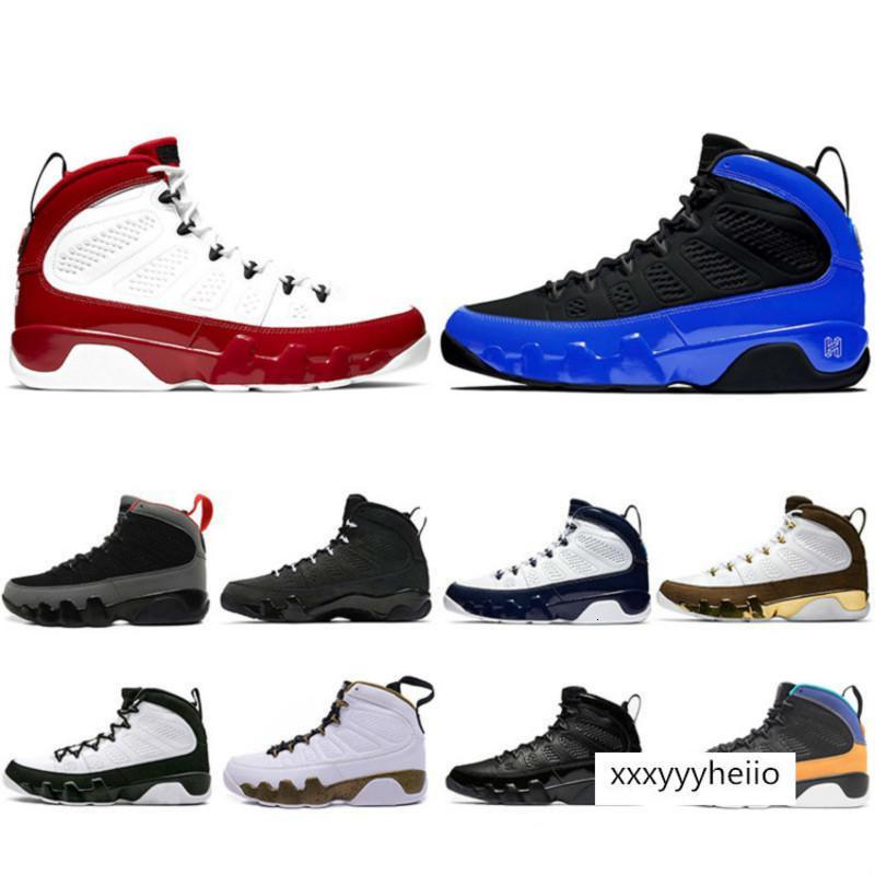 20Gym rojo de los cítricos Racer Blue 9 IX 9s para hombre zapatillas de baloncesto Sóñelo UNC LA espaciales Bred mermelada deportes de los hombres zapatillas de deporte de Estados Unidos 7-13