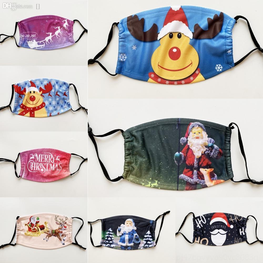 NTHaz Sport bouche Masque extérieur Masques de Noël Party cosplay visage MasksDust Noël chaud Halloween fête Parti coupe-vent Sant B