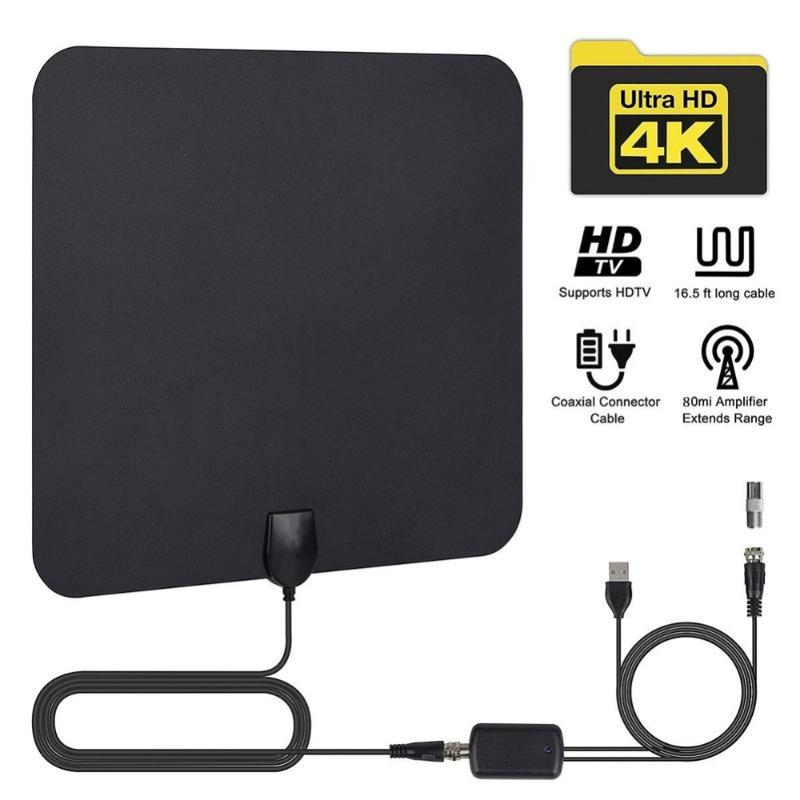 4K HDTV 1080p / ATSC Digital TV Antenna Long Distance Расширяет диапазон DVB-T2 Antena