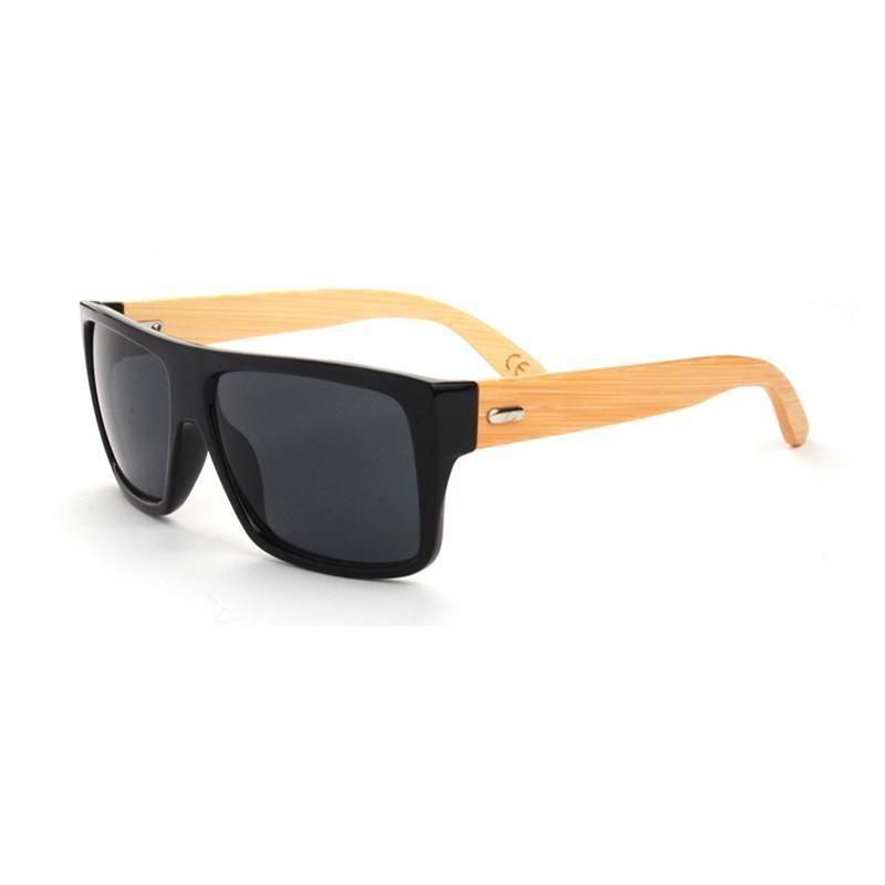 Lunettes de soleil Hommes Bois gros-bambou Masculino Lunettes de soleil en bois Femmes Marque Designer Gafas Oculos Feminino