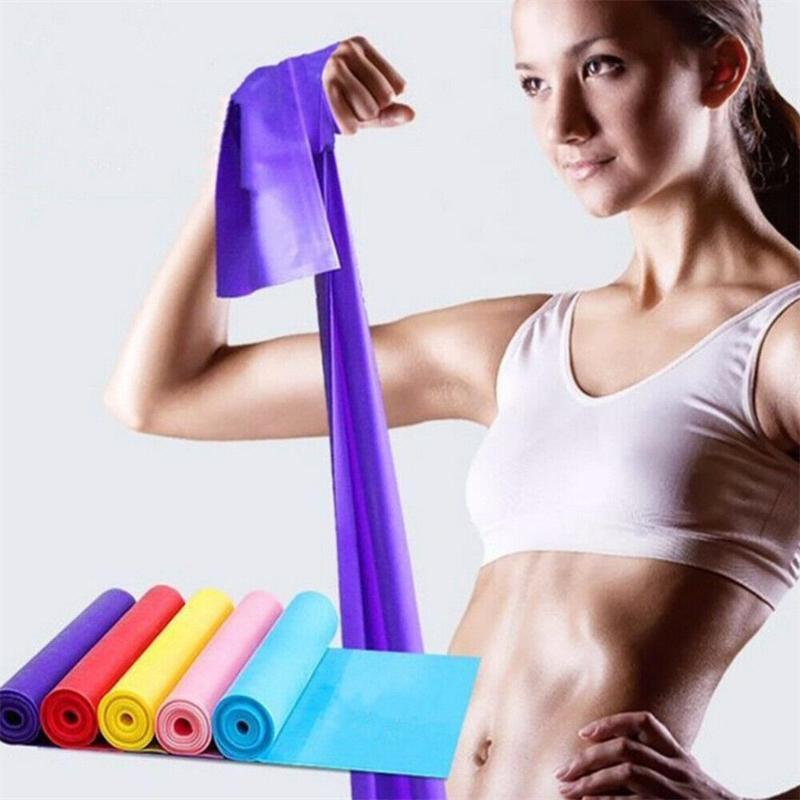 Resistance Band Levels Elastic Latex Gym Krafttraining Gummi Yoga Loops Workout Fitness Equipment gumy treningowe A50