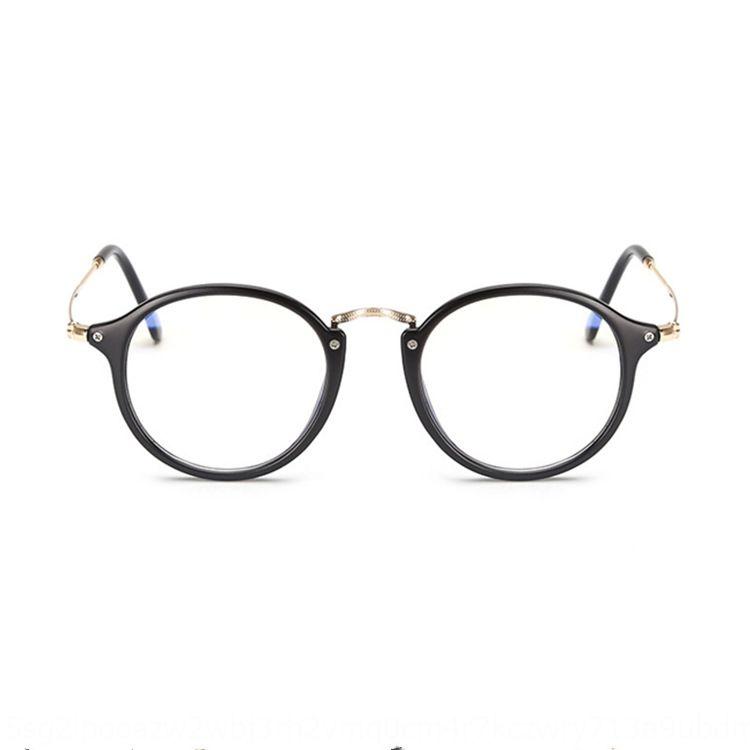 stile aHIPl Mowei coreano ovale pianura può essere equipaggiata Occhiali con grado miopia classiche da uomo e occhiali delle donne telaio 1920