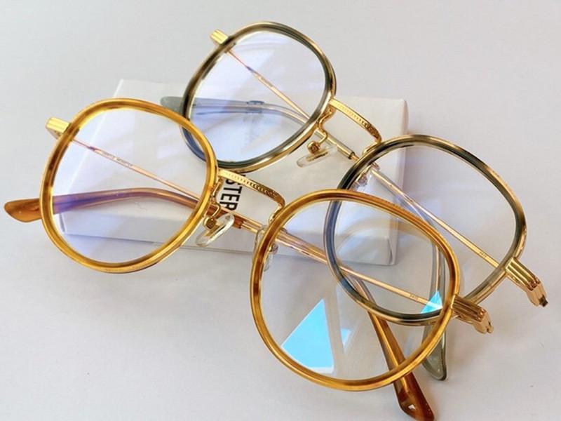 Hotsale Japan-Korea-Star Unisex Glasses frame 48-23-145 Qualtiy Metal+Plank for Prescription adjustable nose bridge fullset box