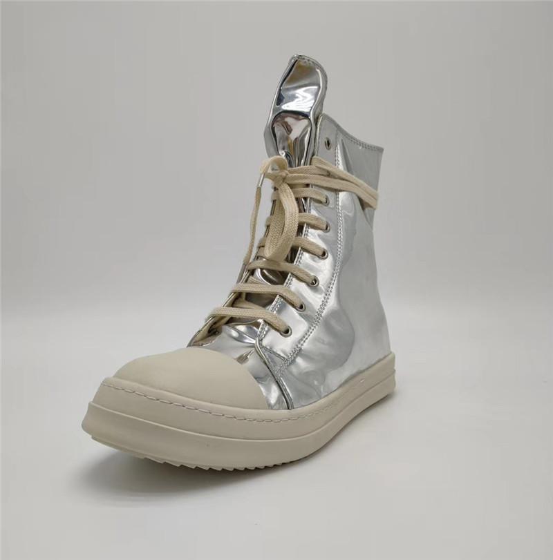 جديد مصمم نمط أحذية الرجال والنساء الدانتيل متابعة عالية أعلى الأحذية مصمم عارضة الاحذية الجلود براءات الاختراع أحذية جلدية الأزياء