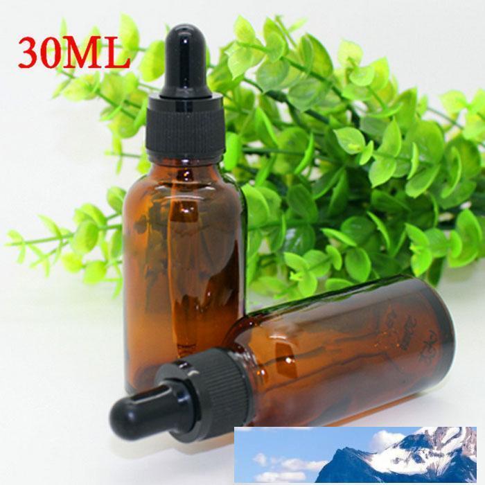 Elektronik Sigara için Damlalık Saf Cam ecig sıvı Amber Şişe İyi Fiyat 440Pcs 30ml Cam Şişe eJUICE Yağı 30 ml Free_DHL