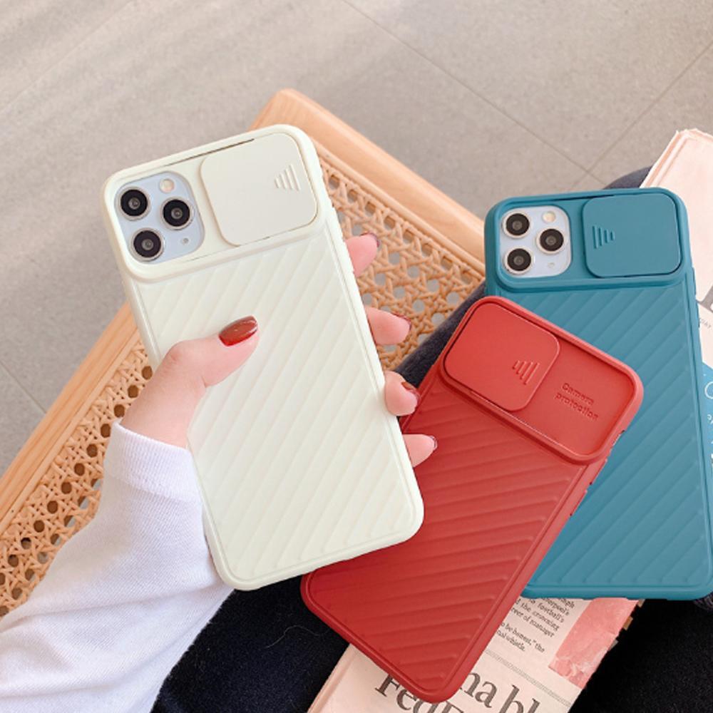 Новое поступление камеры объектива защиты телефона чехлы для iPhone 12 для iPhone 11 Soft TPU крышка чехол для iPhone 8 7 6 6S PLUS X XS XR 11PRO MAX