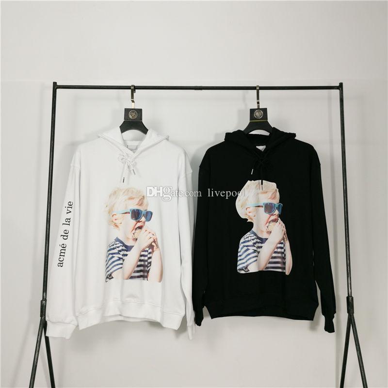 Acme De La Vie ADLV Marque Designer Top qualité Hommes Femmes Sweat-shirts à manches longues Fashion 2055 #