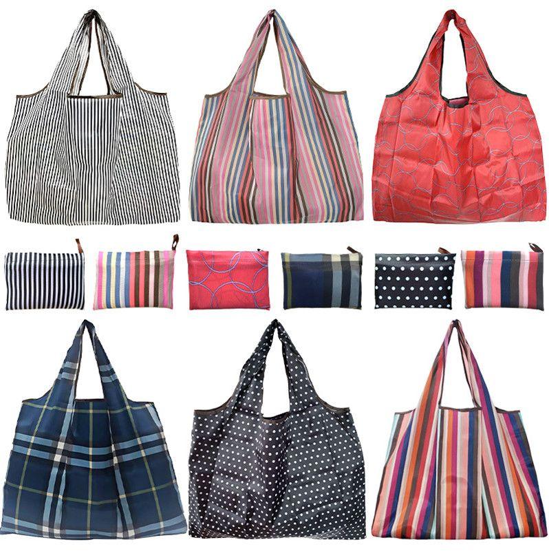 300 Bag Shopping Colors Totes Waterproof E81802 Cartoon Eco-Friendly Folding Storage Grocery Foldable Trendy Handbag Bags Tsanm