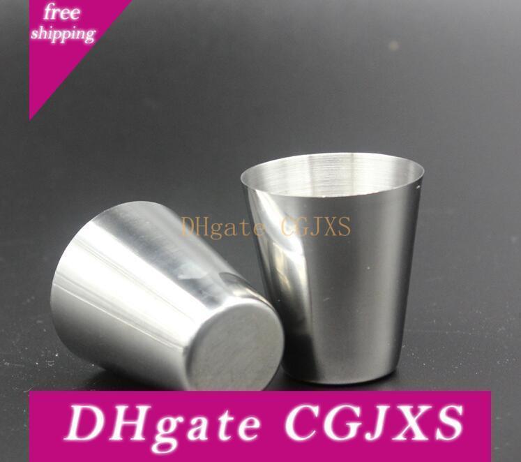 Hip Flask aço inoxidável Cup Outdoor 30ml portátil Hip Flask Especial Óculos Flagon Wine Cup Pot