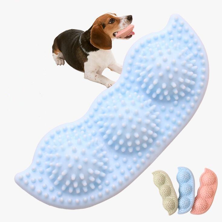 مضغ الكلب المطاط أدوات الكرة الكلاب تدريب الكلاب الترفيه عن اللعب في الهواء الطلق الحديثة مولار الأسنان كرات تدريب الكلاب الطاعة أداة DHF1011