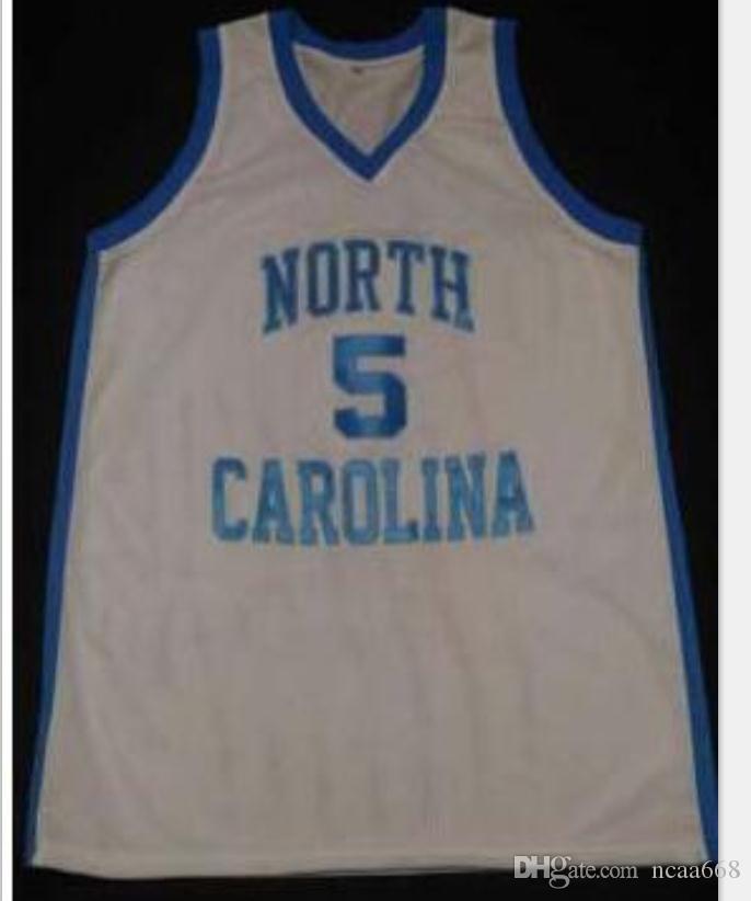 mulheres costume Homens Jovens Vintage # 5 Marcus Paige North Carolina Tar Heels basquete Jersey Tamanho S-6XL ou personalizado qualquer nome ou número de jersey