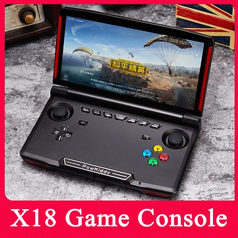 Powkiddy X18 Video Games console portatile retro mini Sale gioco console portatili Built-in emulatore Android Player